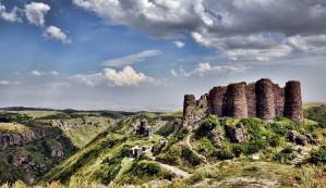 Armenian letters monument - Amberd - Hovhannavank - Saghmosavank