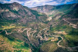 On the roads of Armenia
