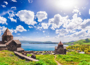 Sunny weekend in Armenia